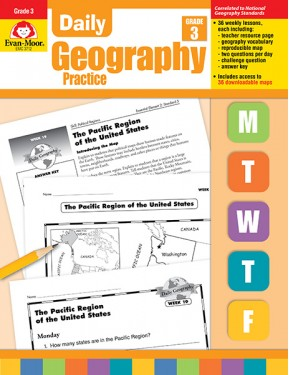 Daily Geography Practice Grade 3