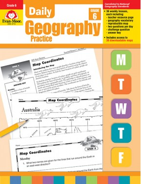 Daily Geography Practice Grade 6+