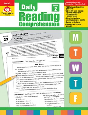 Daily Reading Comprehension, Grade 2 Te