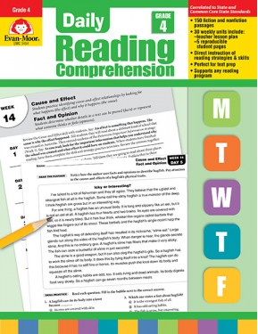 Daily Reading Comprehension, Grade 4 Te