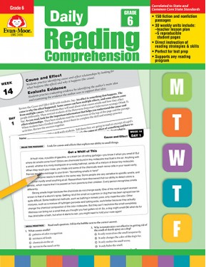 Daily Reading Comprehension, Grade 6 Te