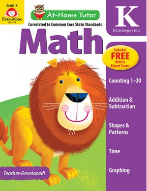 At Home Tutor Math, Grade K