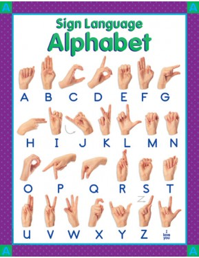 #10SIGN LANGUAGE, THEME CHART