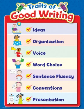 #10TRAITS OF GOOD WRITING, SMALL CHART