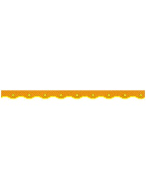 DOTTED ORANGE VALUE TRIMMERS