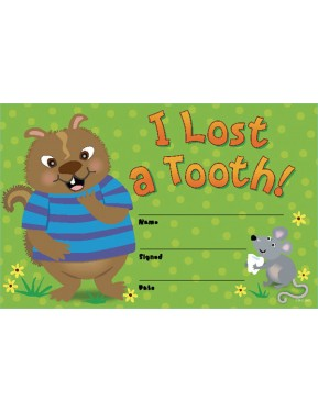 #10I LOST A TOOTH! AWARDS