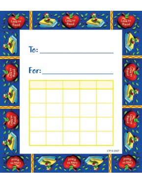 #10LOVE TO READ STUDENT INCENTIVE CHARTS