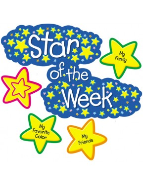 #10STAR OF THE WEEK MINI BULLETIN BOARDS