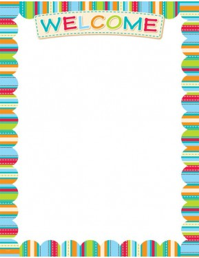 DOTS ON TURQUOISE WELCOME – CLASSROOM ESSENTIALS CHART