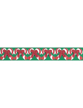 CANDY CANES BORDER