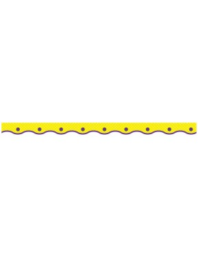 DOTTED YELLOW VALUE TRIMMERS