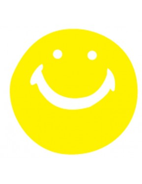 #9SMILEY FACE CUT-OUTS (YELLOW/RED)