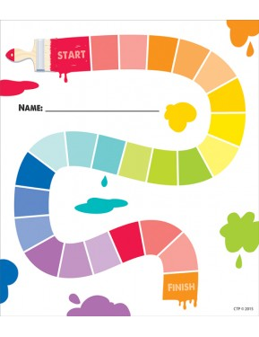 Painted Palette Painted Path Student Incentive Chart