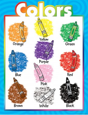 COLOR CRAYONS CHART