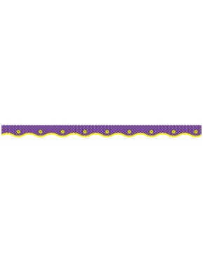 DOTTED PURPLE VALUE TRIMMERS