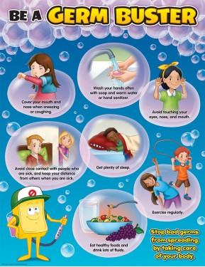 BE A GERM BUSTER CHART