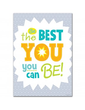 BE THE BEST YOU... INSPIRE U POSTER