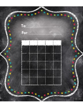 Chalk It Up! Charming Dots Student Incentive Chart