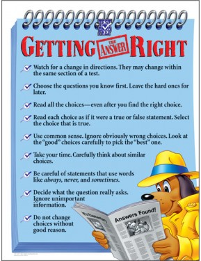 #8GETTING IT RIGHT CHART