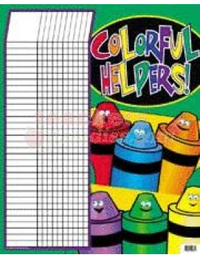 COLORFUL HELPERS INCENTIVE CHART